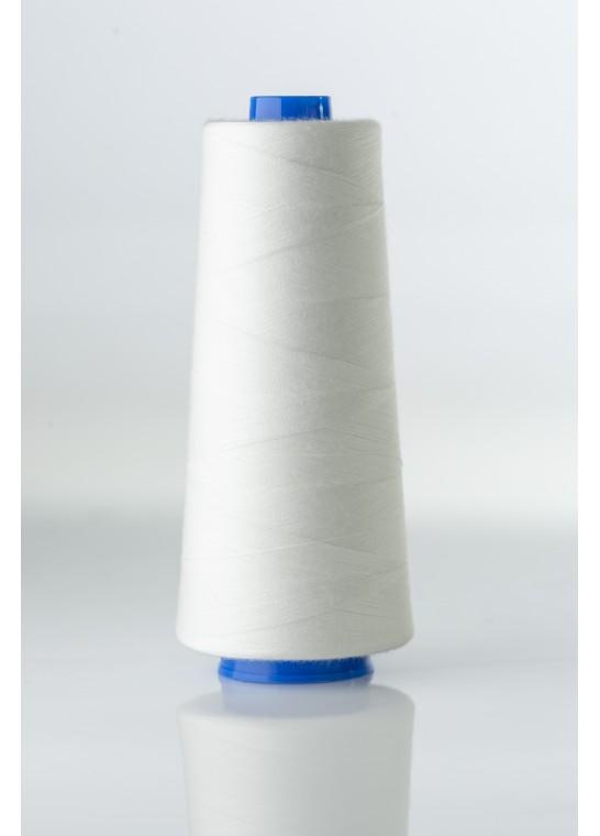 Fil standard pour canette sur cône blanc / noir