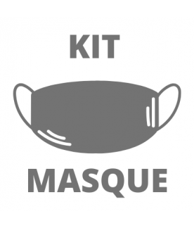 Kit Masque BARRIERE ANTI PROJECTIONS à usage non sanitaire